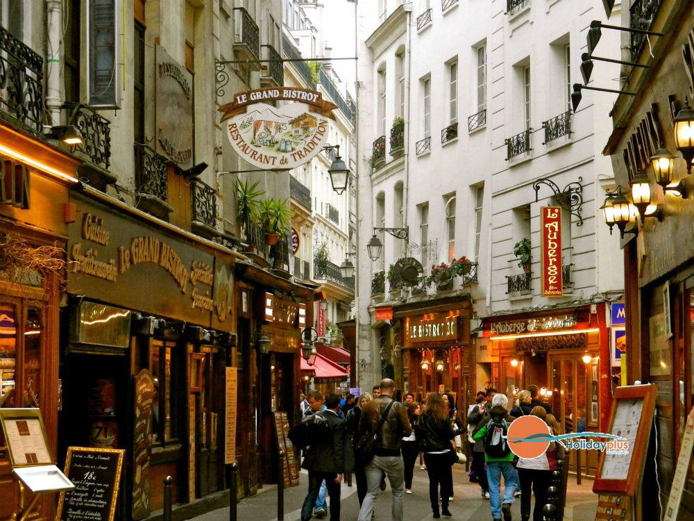Предколеден Париж - градът на светлината в предпразнична треска - част 2