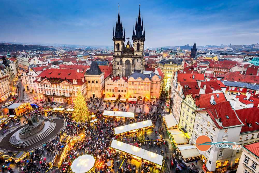 Предколедна Прага - градът на 100-те златни кули в предпразнична треска - част 1