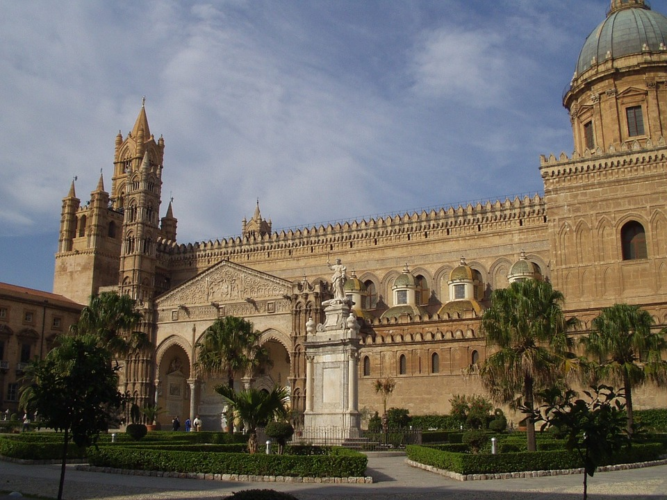 Сицилия - столицата Палермо и Катедралата в Монреале