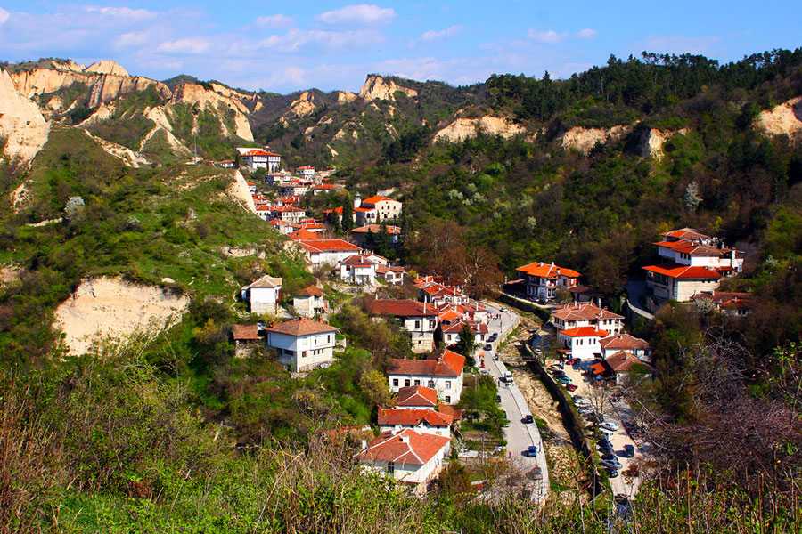 Град Мелник - забележителности и история - част 1