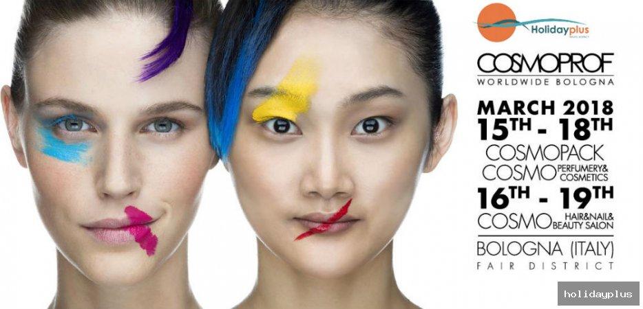 Вдъхновение, козметика и красота - COSMOPROF Болоня 2018 - част 1