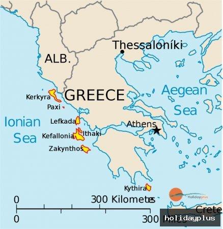 Йонийските острови с яхта или катамаран под наем